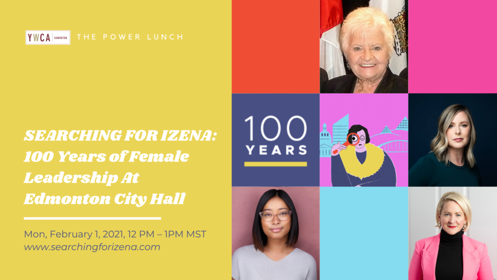 Searching for Izena Power Lunch banner